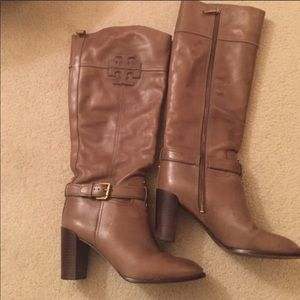 Tory Burch Tall Heeled leather boot